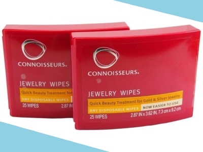Connoisseurs Dry Disposable Jewelry Wipes